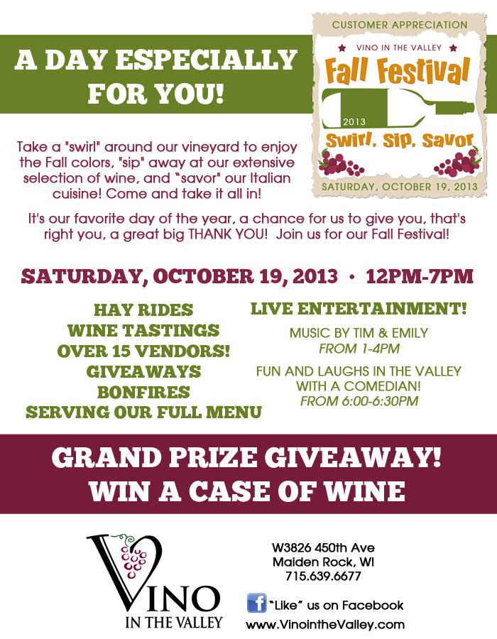 Fall Festival Flier 10-13FB2
