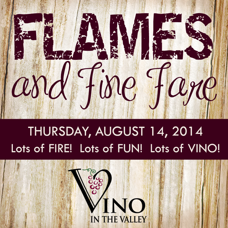 Flames and Fine Fare 08-14- Vino