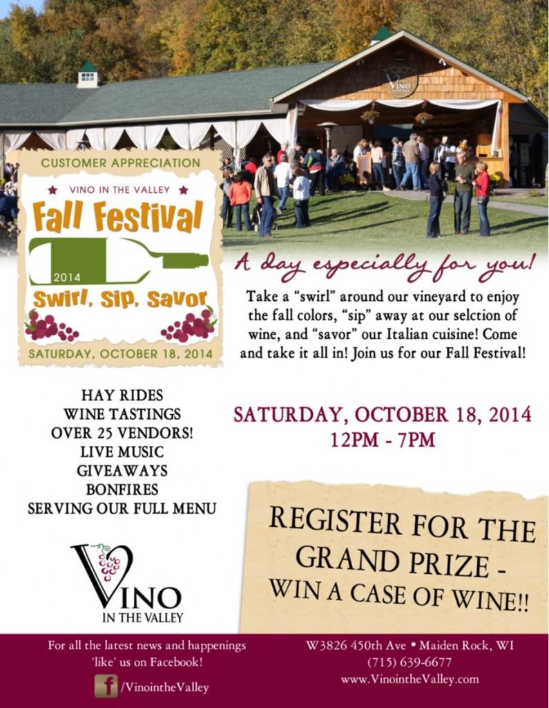 Fall Festival Flier 2014