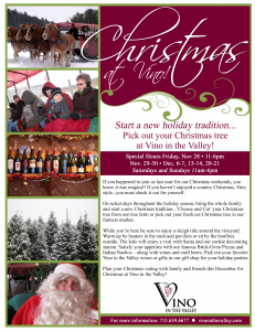 Vino in the Valley- Christmas Flyer-V2- 11-19-14