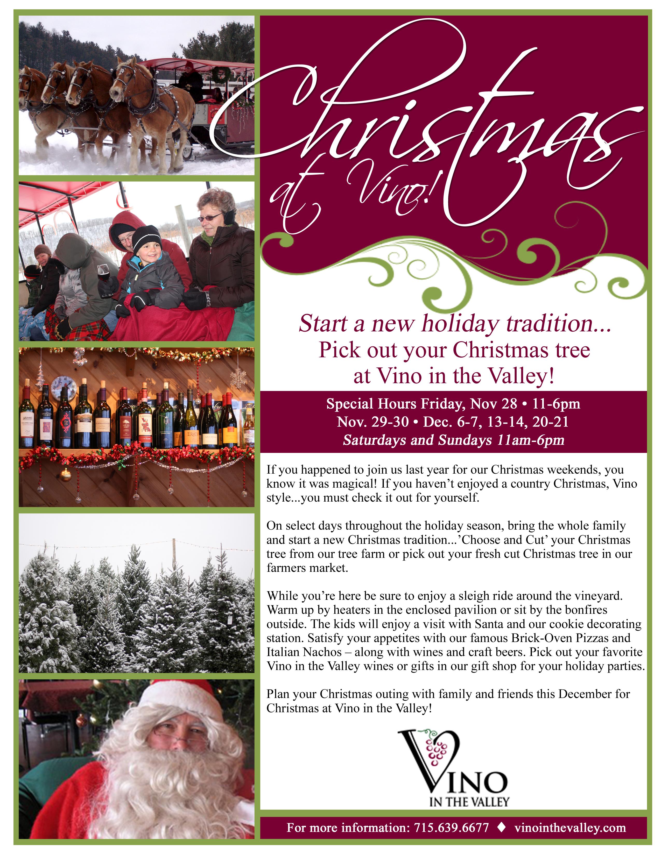 Vino in the Valley- Christmas Flyer-V2- 11-19-14