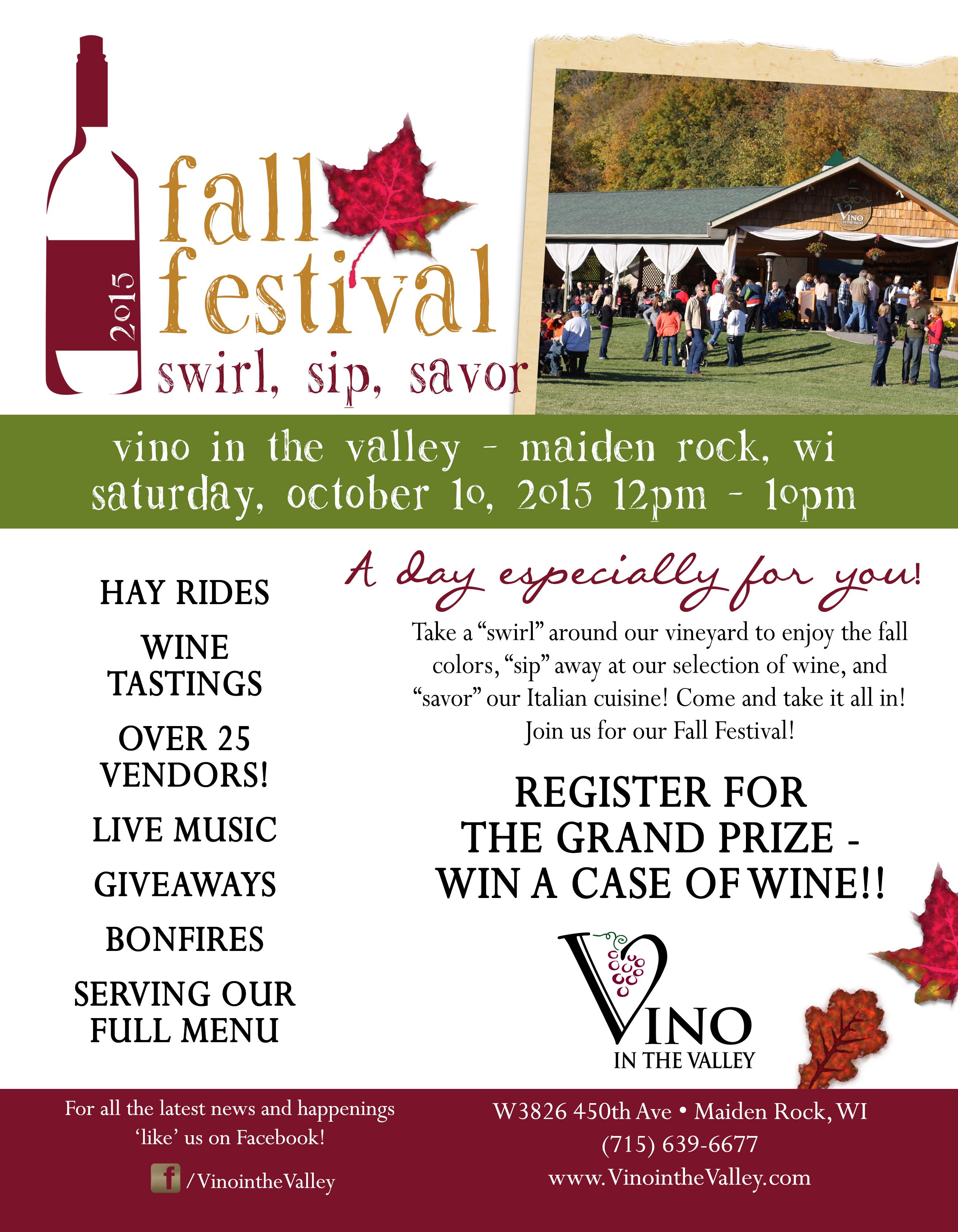 Fall Festival Flyer 2015