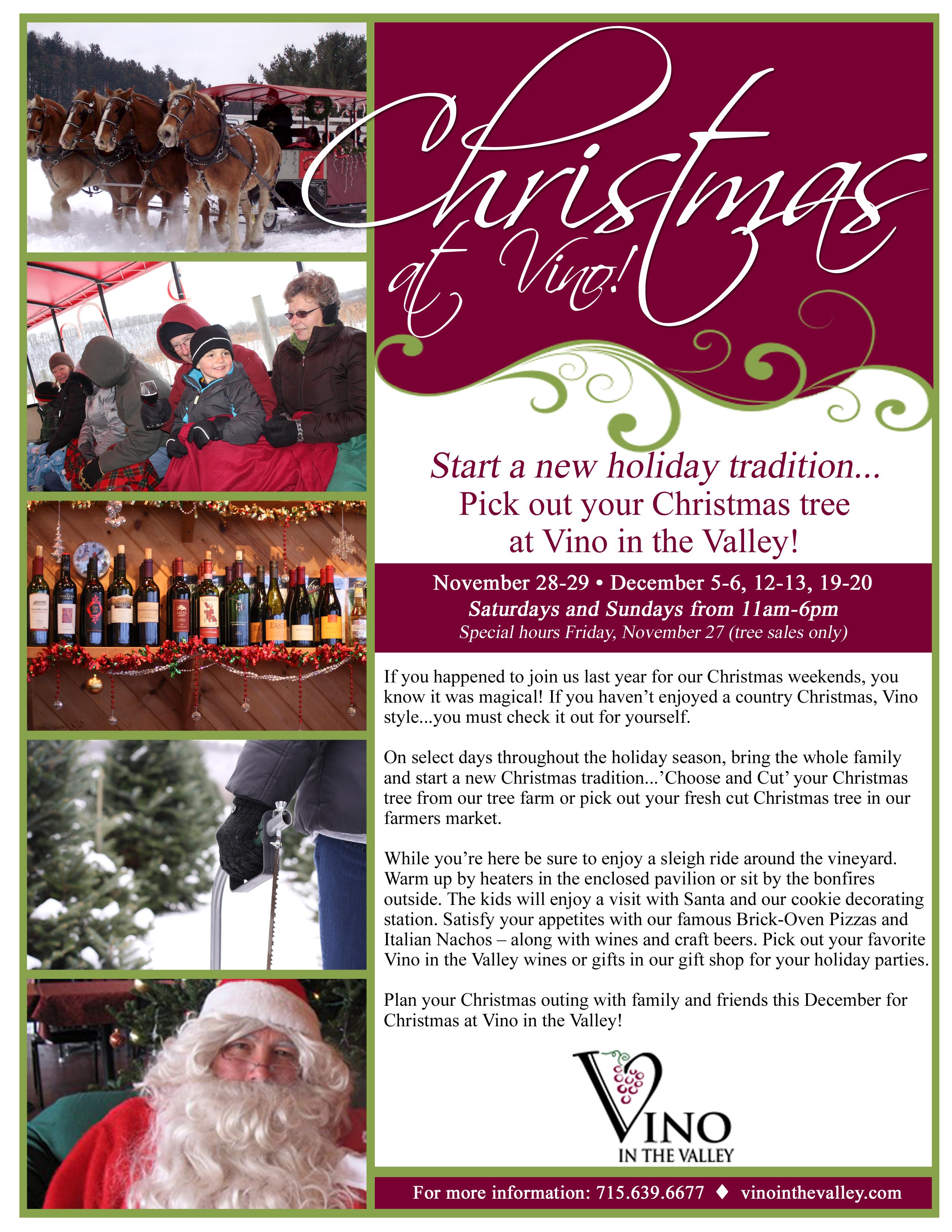Vino in the Valley- Christmas Flyer-V2- 11-12-15