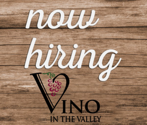 Vino In The Valley - Now Hiring image